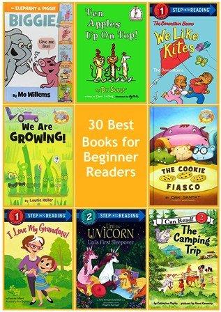30 Best Books for Beginner Readers