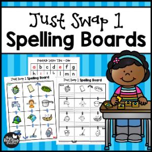 Just Swap 1 Spelling Boards